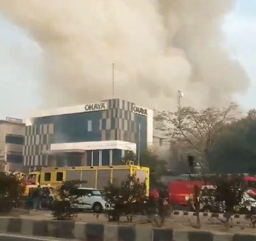 Screen grab from video(Twitter @rahulrajnews)