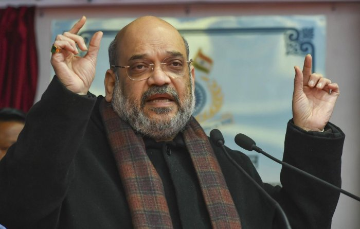 Union Home Minister Amit Shah. (PTI photo)