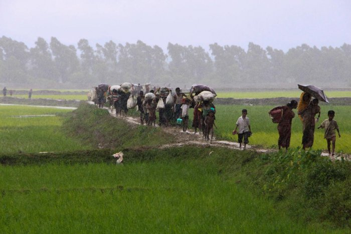 The BGB Director said the trespassing did not create any tension between the border forces of Bangladesh and India. (AFP photo)