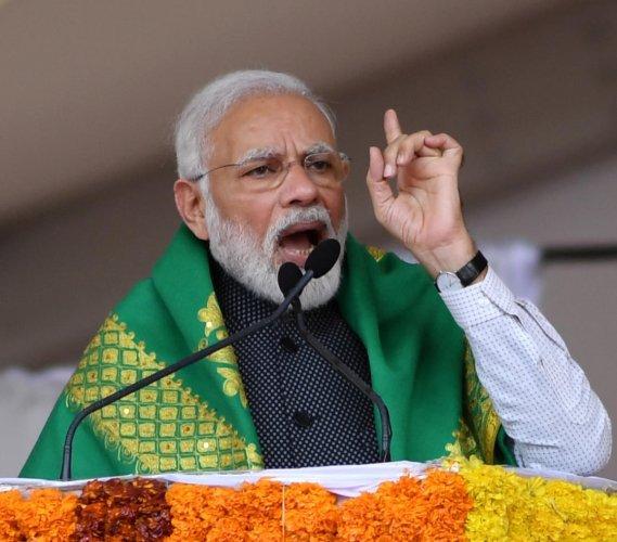 Prime Minister Narendra Modi. (DH photo)