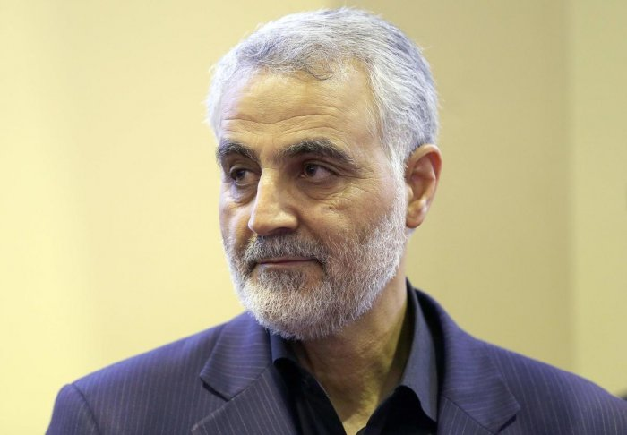 Top Iranian commander Qasem Soleimani was killed by a US strike. (AFP photo)