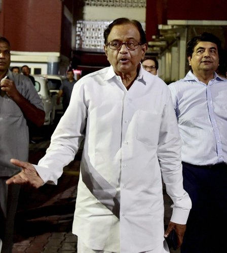 Chidambaram, who spent 106 days in custody in the INX Media case before he got bail on December 4 last year, recorded his statement under the Prevention of Money Laundering Act (PMLA).