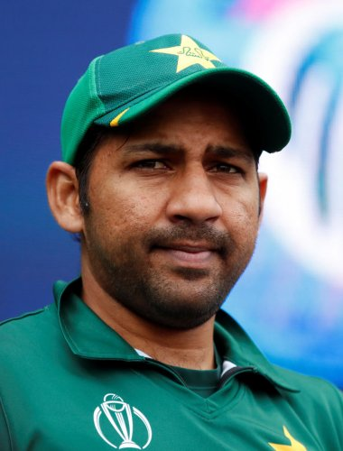 Pakistan's Sarfaraz Ahmed alongwith many other players would undergo the Fitness Test next week (Photo Credit: Reuters)