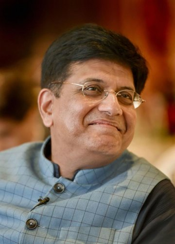 Union Railway, Commerce and Industry Minister Piyush Goyal (Photo Credit: PTI)