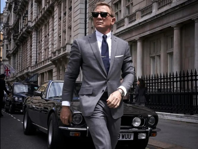 Daniel Craig In No Time To Die. (Photo Credit: DH)