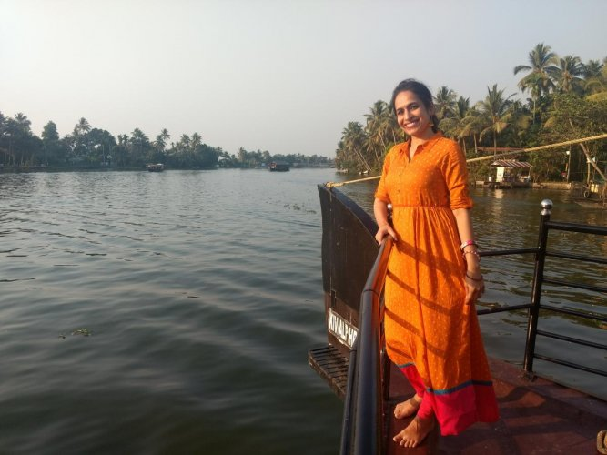 Divya H N says travellers shouldrespect the culture of theplaces they are visiting.