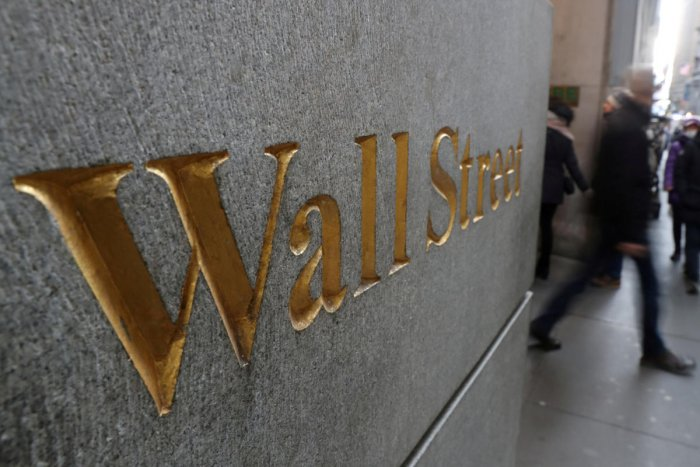 The broad-based S&P 500 also shed 0.7 per cent to 3,236.58, while the tech-rich Nasdaq Composite Index dropped 0.8 per cent to 9,023.75. Photo/Reuters