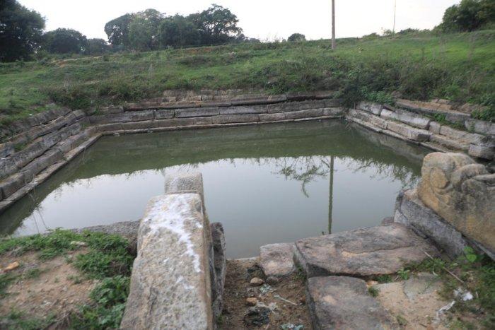 A kalyani at Shambunathapura, Arakalagudu, in Hassan district.