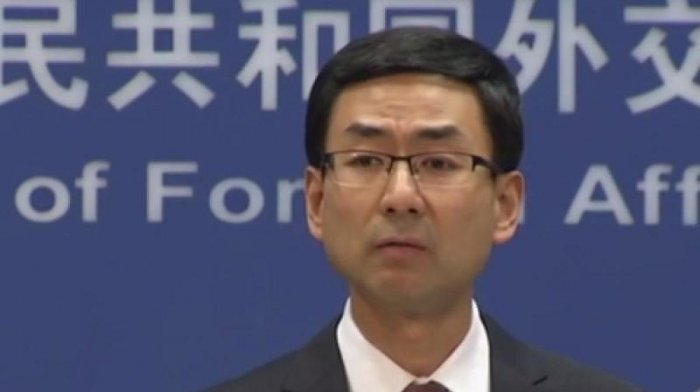 Chinese foreign ministry spokesman Geng Shuang. (DH Photo)