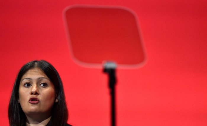 Nandy has become the fourth Labour hopeful to throw her hat in the ring after Clive Lewis, Jess Phillips and Emily Thornberry. (Reuters photo)
