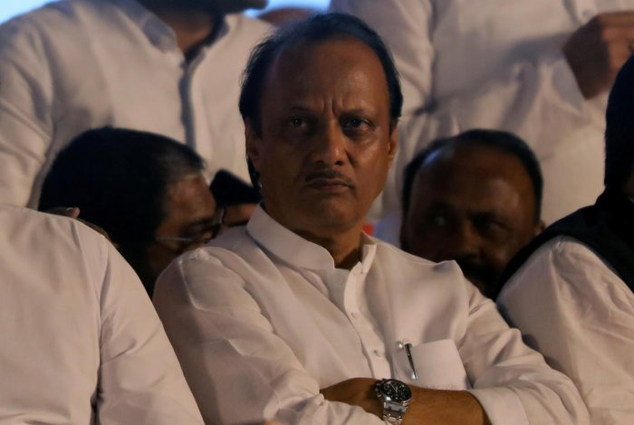 Nationalist Congress Party (NCP) politician Ajit Pawar (PTI File Photo)