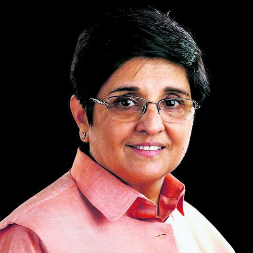 Former Indian Police Service Officer and Lieutenant General of Puducherry Kiran Bedi. (DH Photo)