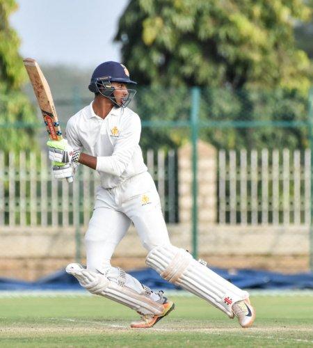 Opener Devdutt Padikkal gave his team a solid start. (DH file photo)