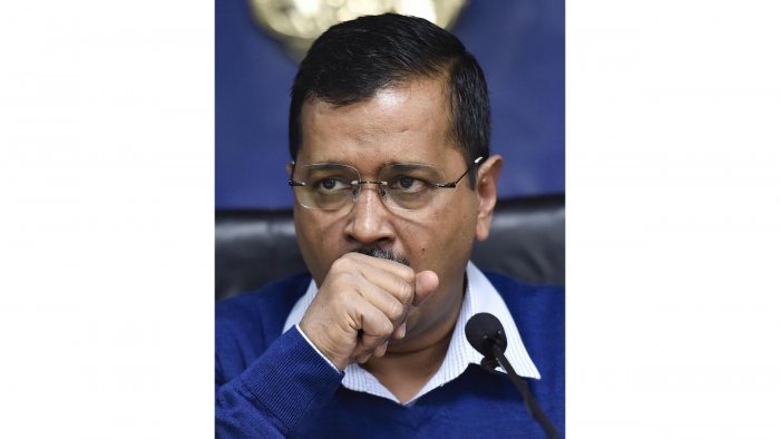 """Reacting to the charges, Kejriwal said Shah said nothing other than to """"abuse"""" him."""