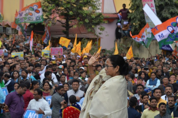 Chief minister of West Bengal state and leader of the Trinamool Congress (TMC) Mamata Banerjee. (AFP Photo)