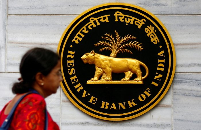 Reserve Bank of India logo. (Reuters Photo)