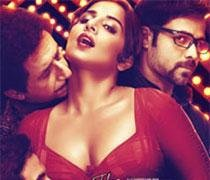 Vidya goes 'Ooh La La' at the music launch of 'Dirty Picture'