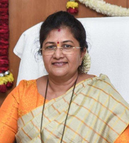 Shashikala Jolle, Minister of Women and Child Development