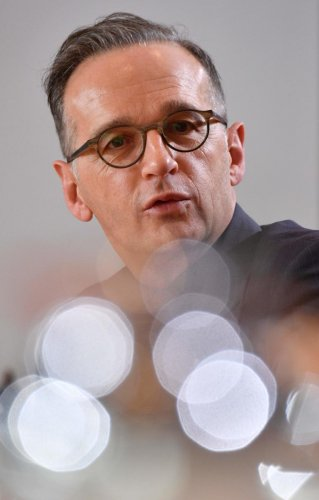 German Foreign Minister Heiko Maas. Photo credit: AFP