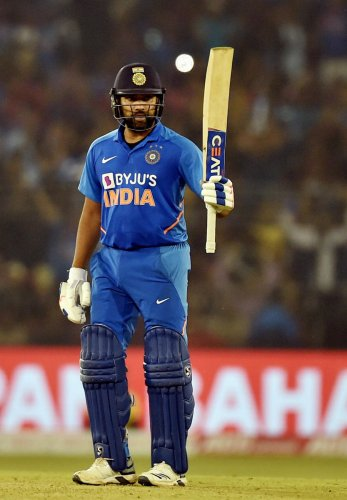 At the end of the day, I want to go out there, share a laugh with my mates and enjoy: Rohit Sharma (Photo Credit: PTI)