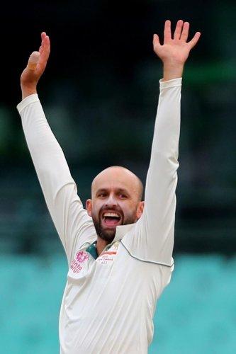 Nathan Lyon: New leader of the Australian bowling attack? (Photo Credit: AFP)