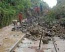 Landslide blocks Konkan Railway, thousands stranded
