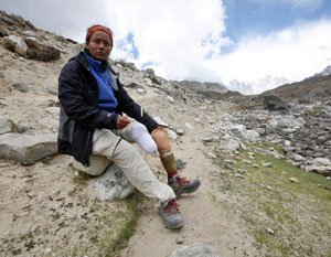 Arunima's journey from railway tracks to Mt Everest