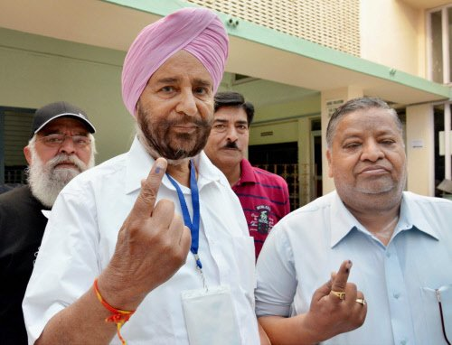 Nearly two-thirds vote in Punjab