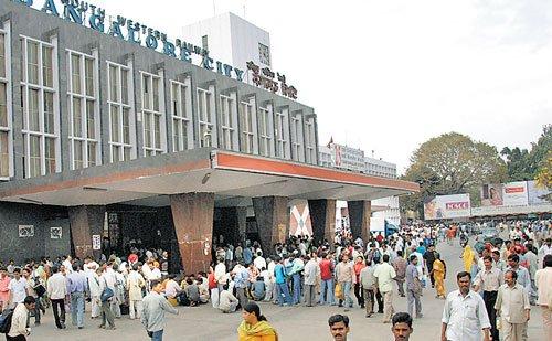 No extension of subway at Bangalore Railway Station