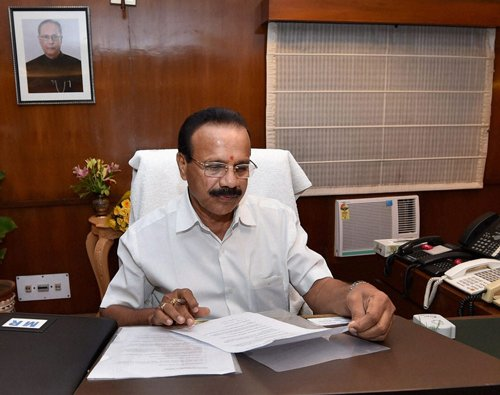 Railway minister's brother works as station master
