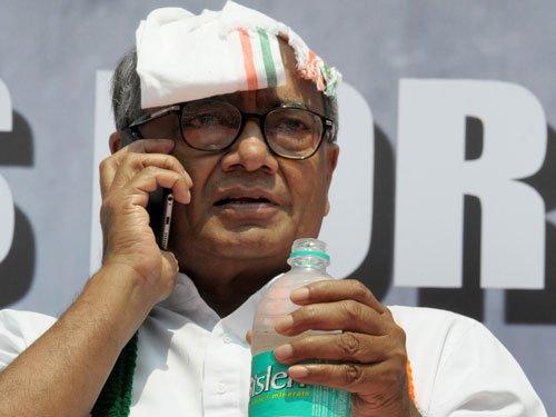 Punjab, UP & Goa polls big challenge for Congress: Digvijaya
