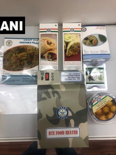 The wholesome desi meal to be made ready by the Defence Food Research Laboratory, in Mysore, which works under the Defence Research and Development Organisation.