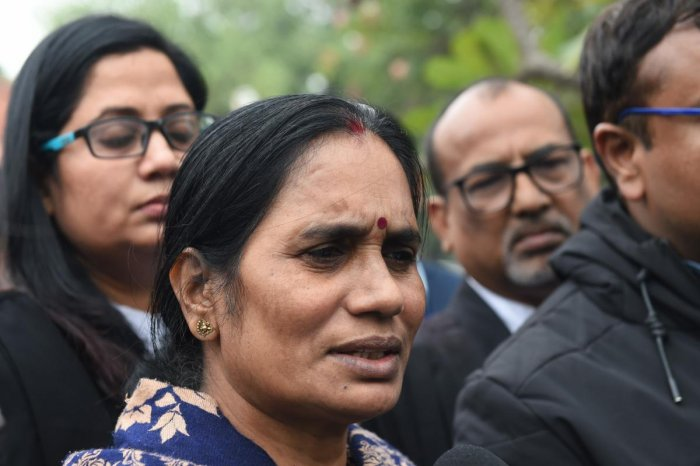 "The victim's mother Asha Devi said January 22, the date set by the judge for hanging, will be a ""big day"" for her. (PTI photo)"