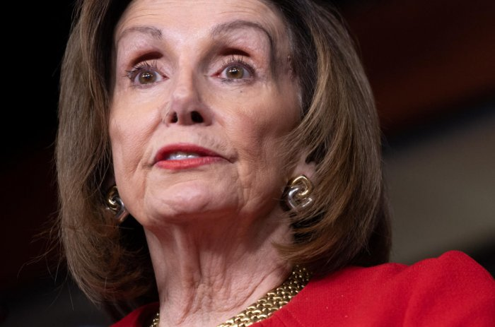 "House Speaker Nancy Pelosi announced the plan to introduce and vote on the resolution ""to limit the president's military actions regarding Iran,"" in a letter to colleagues late Sunday. AFP File Photo"
