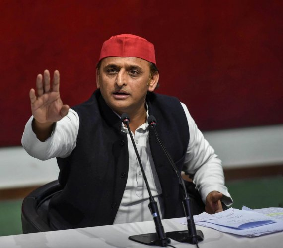 Samajwadi Party National President Akhilesh Yadav. (PTI photo)