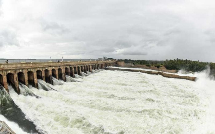 KRS dam. DH File Photo
