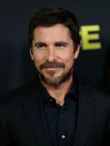 Christian Bale at the premiere of Vice. (Reuters photo)