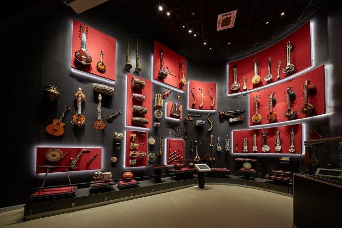 Indian Music Experience has memorabilia from Bismillah Khan and Bhimsen Joshi.