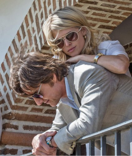 Sarah Wright share screenspace with Tom Cruise in 'American Made'.