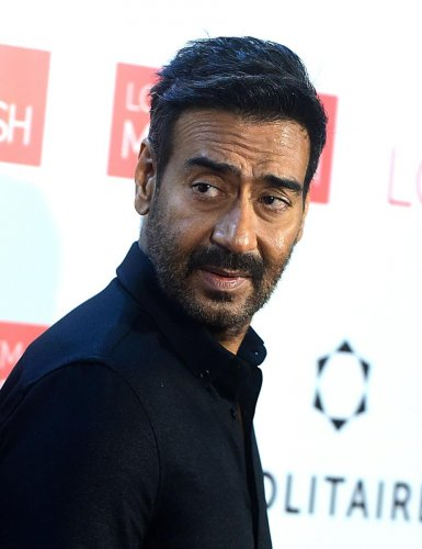 Ajay Devgn essays the lead role in Om Raut's Tanhaji. (AFP Photo)