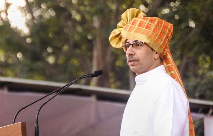 Maharashtra Chief Minister Uddhav Thackeray. (photo PTI)