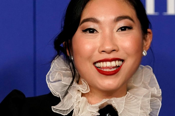 Golden Globe winner Awkwafina is among the nominees for this year's EE Rising Star Award. (Credit:Reuters)