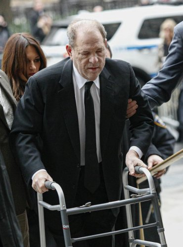 Harvey Weinstein arrives at the court in New York City. (AFP photo)