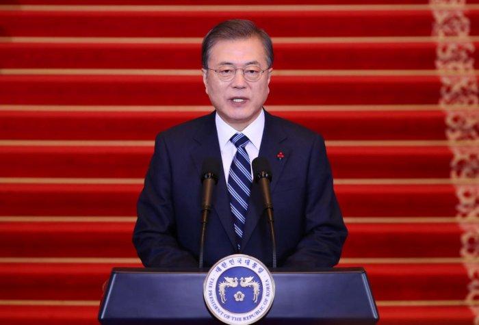 South Korean President Moon Jae In. (AFP Photo)
