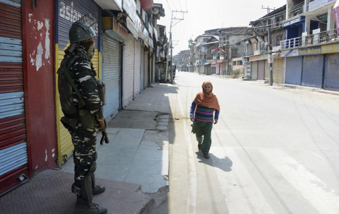 The memorandum reads that since the revocation of J&K's special status embedded in Article 370 of the Indian Constitution and bifurcation of the state into two Union Territories— Jammu and Kashmir with a legislature and Ladakh without one — the majority of its residents are yet to reconcile with this decision. Credit: PTI File Photo