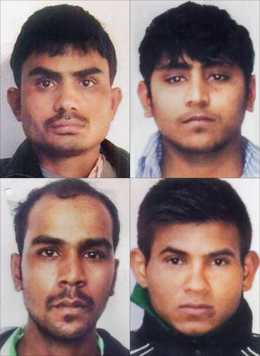 A window of 14 days has been given by a trial court, which fixed January 22 as the date of the hanging of convicts Akshay (31), Mukesh (32), Pawan (25) and Vinay (26), for taking further legal recourse. Credit: PTI File Photo