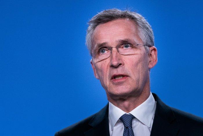 NATO Secretary General Jens Stoltenberg. (AFP Photo)