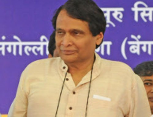 Railway minister gives an e-makeover to his  image ahead of reshuffle