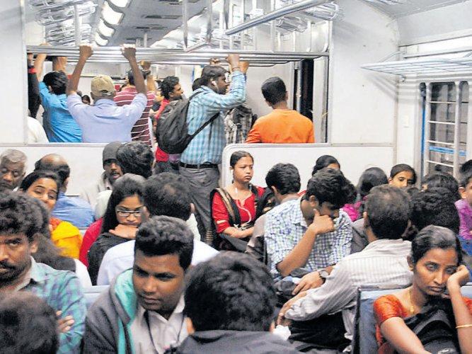 CM writes to Prabhu, wants Centre to share cost burden  of suburban railway
