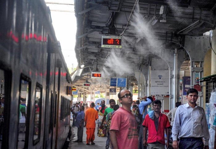 The NGT bench said that Indian Railways should put in a place a system to maintain railway properties clean and dispose of waste generation in stations. Photo/PTI